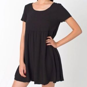 American Apparel babydoll T-shirt dress